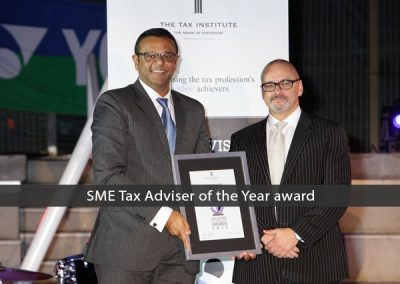 SME-Tax-Adviser-of-the-Year-award-for-Dinesh