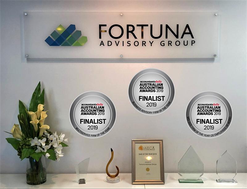 Fortuna – Australian Accounting Award Finalists 2019