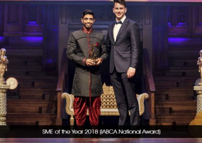 SME of the Year 2018 (IABCA National Award)