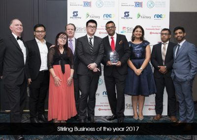 Stirling Business of the year 2017