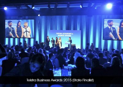 Telstra Business Awards 2015 (State Finalist)